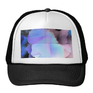 Square #3 design trucker hat