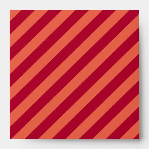 Red Invitation Envelopes as luxury invitations ideas