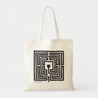 square 7-circuit labyrinth bag
