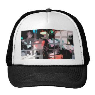 Square #8 design trucker hat