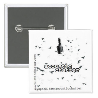 Square Acoustic Chatter Pin