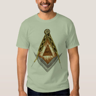 Square and Compass All Seeing Eye Shirt