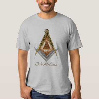 Square and Compass All Seeing Eye T Shirt
