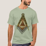 Square and Compass All Seeing Eye T-Shirt