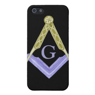 Square and Compass with All Seeing Eye Case For iPhone SE/5/5s