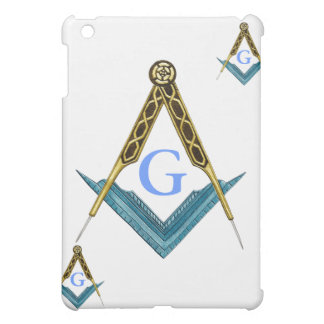 Square and Compass with All Seeing Eye iPad Mini Cases