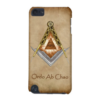 Square and Compass with All Seeing Eye iPod Touch 5G Case
