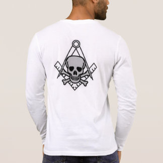 Square and Compass with All Seeing Eye Shirt