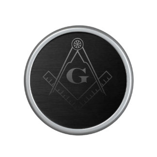 Square and Compass with Inset G Bluetooth Speaker