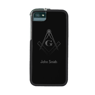 Square and Compass with inset G iPhone 5/5S Cases
