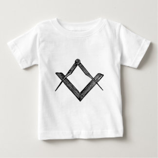 Square and compasses baby T-Shirt