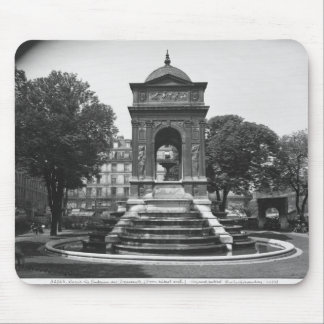 Square and fountain of Innocents, 1547 Mouse Pad