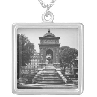 Square and fountain of Innocents, 1547 Custom Jewelry