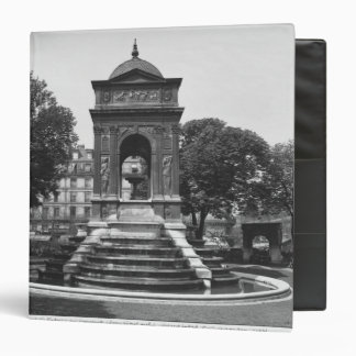 Square and fountain of Innocents, 1547 Vinyl Binder
