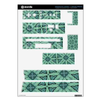 square and triangle like Abstract Pattern Wii Skins
