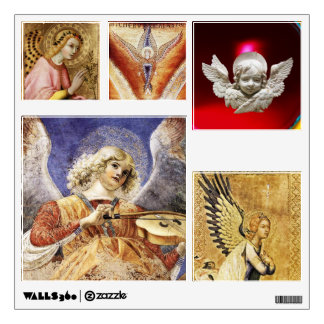 SQUARE ANGELS CHRISTMAS COLLECTION WALL DECAL