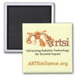 Square ARTSI Magnet