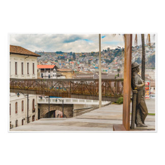 Square at Historic Center of Quito Ecuador Photo Print