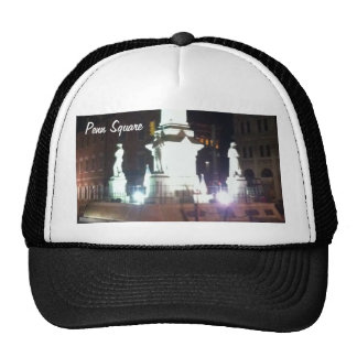 Square at Night Trucker Hat