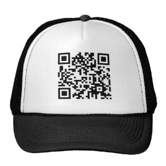 Square Barcode Hat