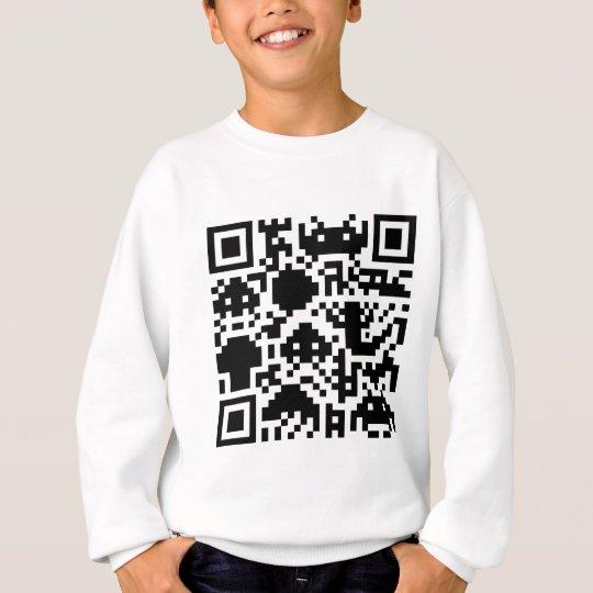 Square Barcode Sweatshirt