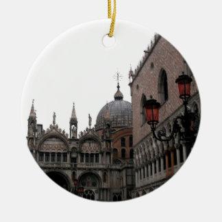 Square & Basilica of St Mark Ceramic Ornament