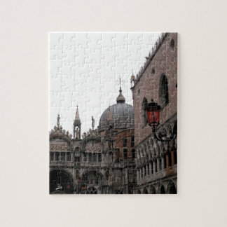 Square & Basilica of St Mark Jigsaw Puzzle