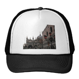Square & Basilica of St Mark Trucker Hat