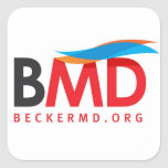Square BeckerMD Sticker
