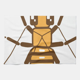Square Bee Hand Towel