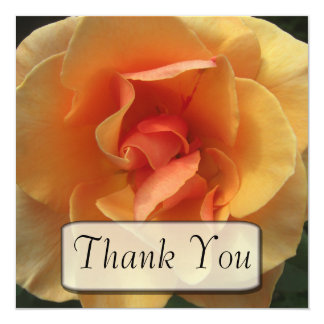 Square Bloom Thank You Cards