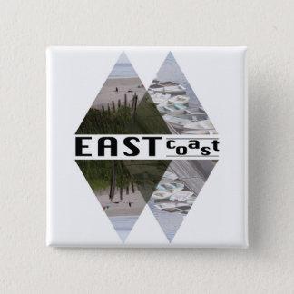 Square Button EAST COAST