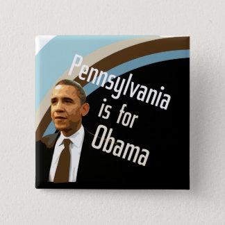 Square Button for Obama in PA