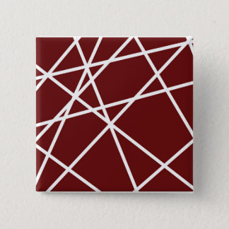 Square Button WHITE ABSTRACT LINES