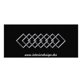 Square Chain Business Rack  Card