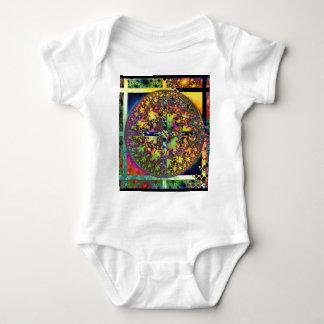square circle baby bodysuit