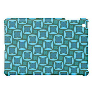 Square Clover Blues iPad Mini Covers