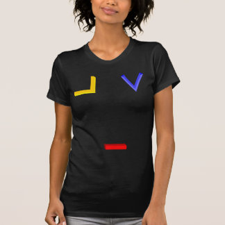 Square, Compass, and Navel Symbols Tee Shirt
