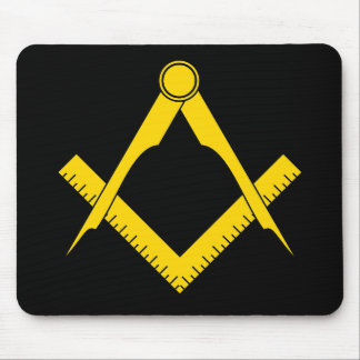 Square & Compass Mouse Pad