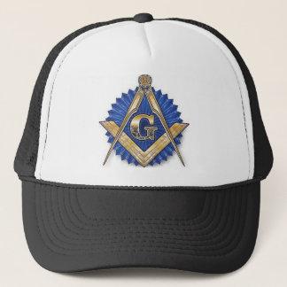 Square & Compass Trucker Hat