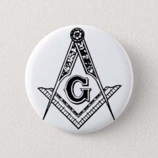 Square & Compasses Button
