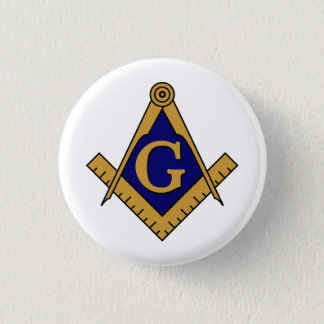Square & Compasses Button