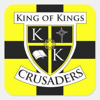 Square Crusaders Sticker small