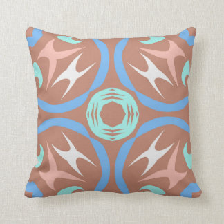 Square cushion with an unusual pattern