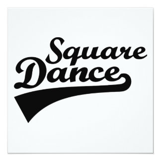 Square dance card