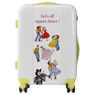 Square Dance Luggage