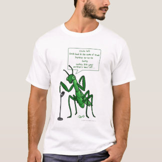 Square Dance Praying Mantis Caller T-Shirt
