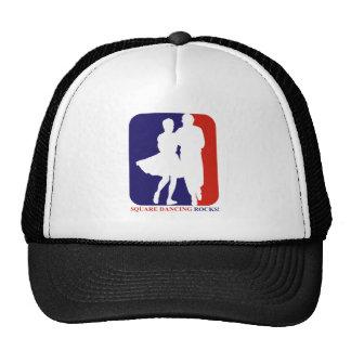square dance rock trucker hat