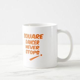 Square dancer Never Stops Mug