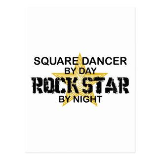 Square Dancer Rock Star by Night Postcard